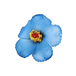 PrettyR 1 Pc Hibiscus Flowers Hawaiian Flowers Artificial Flowers for Tabletop Decoration Party Favors Supplies-as pic