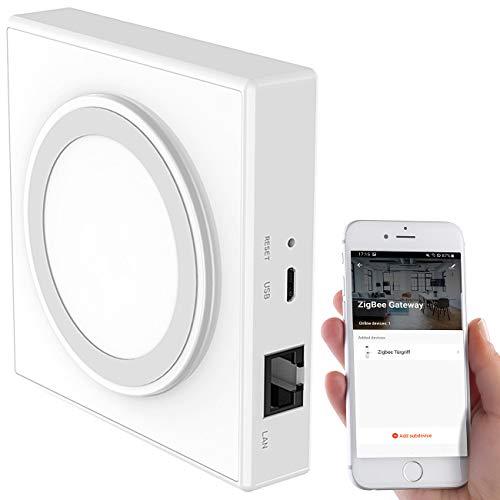 7links Smart Home Zentrale: ZigBee-LAN-Gateway und App für kompatible Smart-Home-Geräte (ZigBee-Gateways)