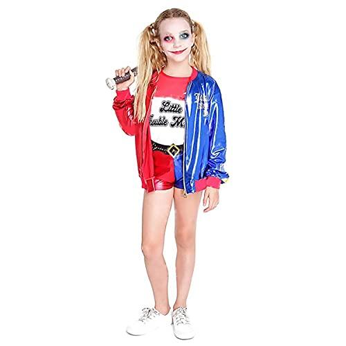 Hipex Collection Disfraz de Joker's Baby Cosplay para niña, Halloween, Carnaval, Fiestas, Disfraces infantil niñas (13-15 años)