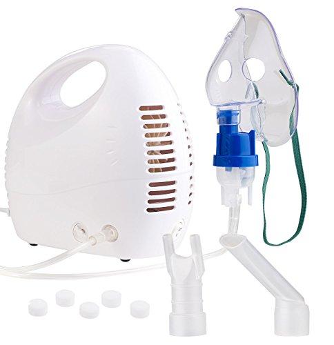 newgen medicals Inhaliergerät: Medizinischer Kompakt-Inhalator für Erwachsene und Kinder (Inhaliergerät für Erwachsene)