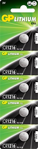 GP CR1216-7U5 Lithium Batterie 2L76 (3V)