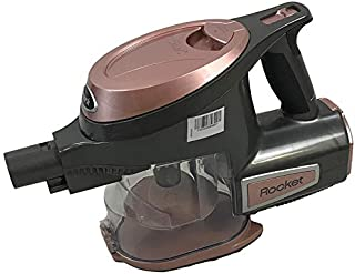 Shark Rocket Bagless Hand Vacuum HV294Q with Home and Car Detail Tool, Extended Reach Hose, Upholstery Tool and HEPA Filter Removes Pet Hair Portable and Ultra-Lightweight (Renewed) (Rose Gold)