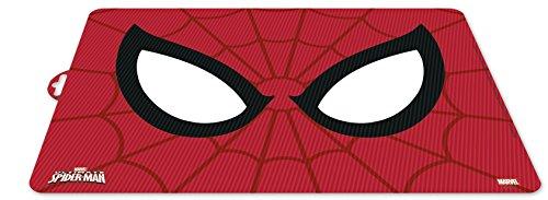 ALMACENESADAN 0406, Mantel Individual Character Marvel Spiderman; Dimensiones 43x29 cms; Producto de plástico; Libre bpa.