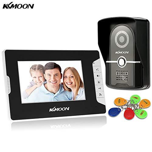 Joyshopping KKmoon 7†Wired Video Door Phone System Visual...