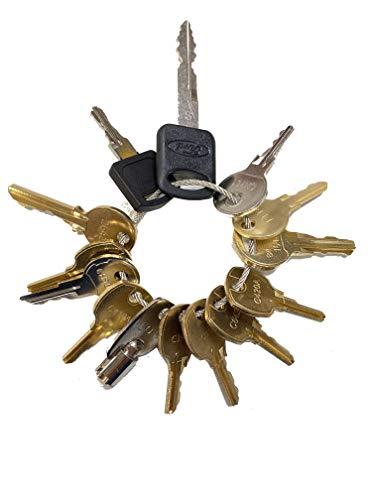 16 OEM Pentesting Keys 1284x FEO-K1 16120 222343 CH751 CH501 C346A C390A E114