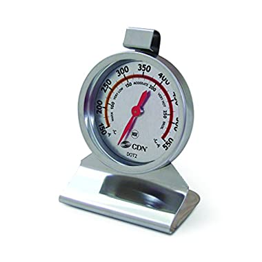 CDN DOT2 ProAccurate Oven Thermometer – Large Dial, Stainless Steel, NSF Certified