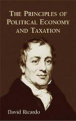 David Ricardo The Priniples of Political Economy and Taxation Economics Taxation