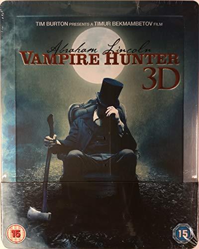 Abraham Lincoln: Vampire Hunter 3D Steelbook [Edizione: Regno Unito] [Italia] [Blu-ray]