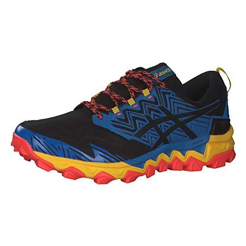 ASICS Mens Gel-Fujitrabuco 8 G-TX Running Shoe, Directoire Blue/Black,43.5 EU