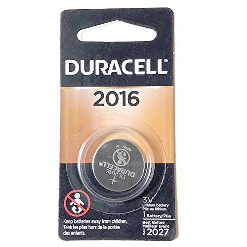 Duracell 3V Lithium Coin Battery Replaces BR2016, 280-202/4/6, SB-T11, 5000LC