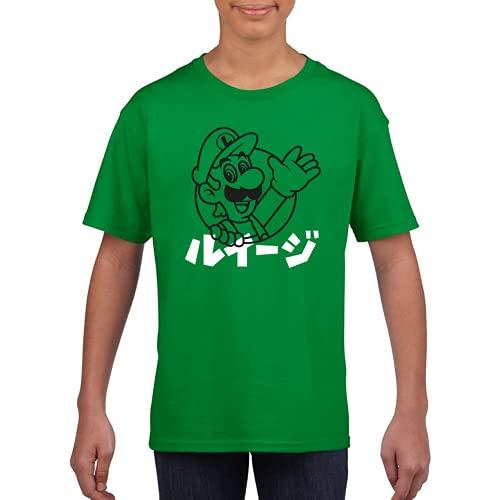 Hey, it's me Too - Camiseta Unisex niños Manga Corta (Verde Kelly, 9 años)