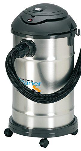 Gisowatt TechnoCleaner 30 Lt X Aspira-Tutto Wet & Dry Inox, 30 Litri, Acciaio, plastica