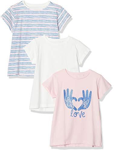 ZIPPY Pack de 3 Camisetas para niña SS20, Orchid Pink 13/2010, 6/7 para Niñas