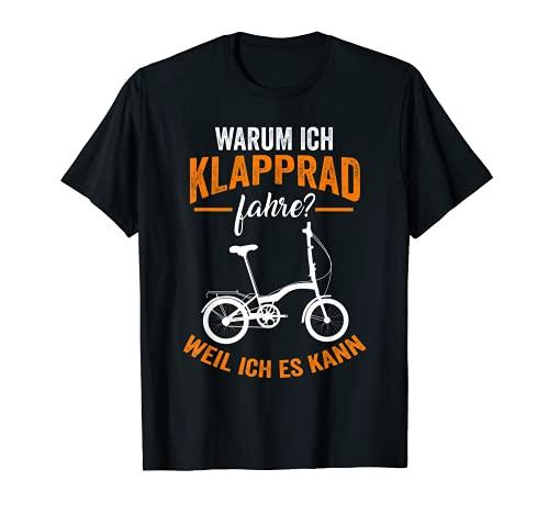 Bicicleta plegable de paseo. Camiseta