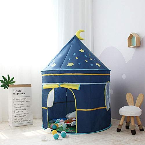 Kinderspielzelt, Indoor Kinder Kinder Spiel Zelt jurte Schloss Tipi spielhaus Spielzeug Form Einer Burg zur Verwendung drinnen oder draußen Spielzelt Burg Haus Natural