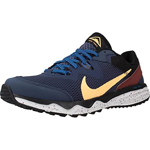 Nike Juniper Trail, Zapatillas para Correr Hombre, Thunder Blue Melon Tint Dark Pony Black, 46 EU