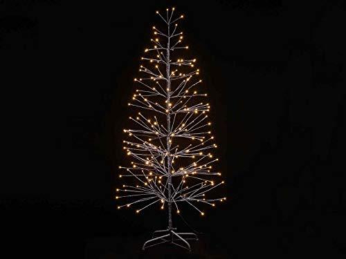 Gruppo Maruccia Albero di Natale Luminoso Marrone per Interni ed Esterni 1,80 Metri
