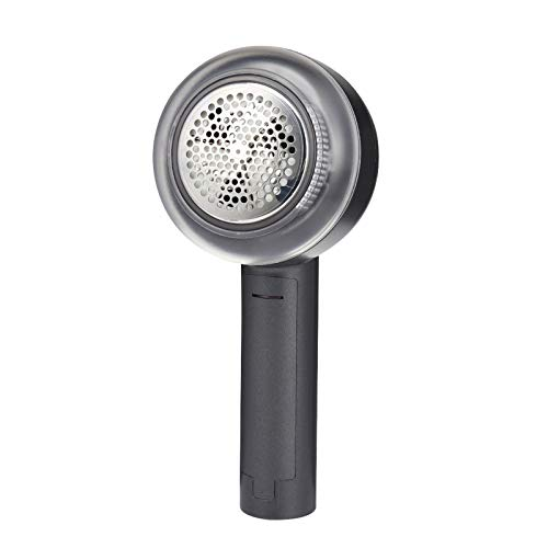 RENJUN Portable Electric Lint Remover,Hair Ball Trimmer Sweaters Carpets Clothing Lint Pellets Cut Machine Fabrics Fuzz Shaver (Color : Gray)