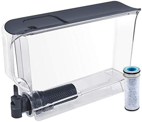Brita Stream UltraMax Water Filter Dispenser, Extra Large 25 Cup, Slate