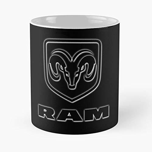 FashionNut 1500 Logo Sticker Ram Dodge Best 11 oz Kaffeebecher - Nespresso Tassen Kaffee Motive