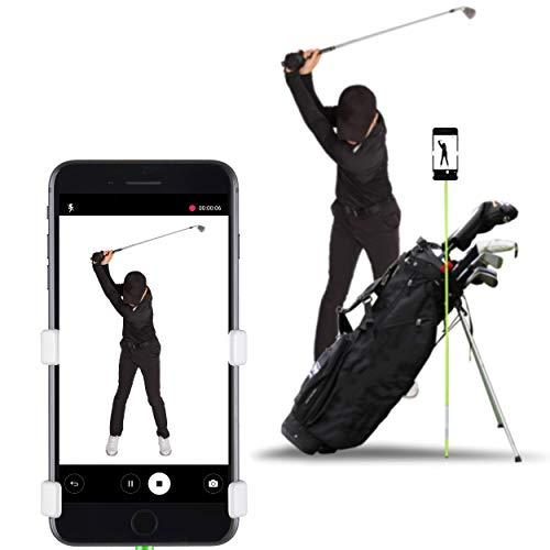 Selfie Golf Europe - Record Golf Swing - Der Gewinner des PGA Best of 2017 (Matte Black)