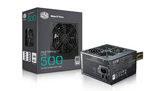 Cooler Master MasterWatt Lite 500 230V Alimentatore \'Non-Modulare, 80 Plus White, 500W\' MPX-5001-ACABW-EU