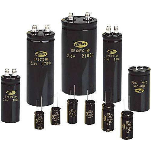 Samwha DB5U407M35060HA Green-Cap Kondensator 400 F 2.7 V/DC 20% (Ø x L) 35 mm x 60 mm 1 St.