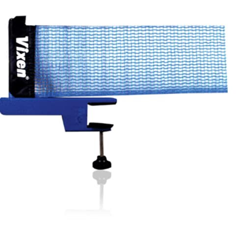 Vixen Star Innovative Retractable Table-Tennis Net with Adjustable Length and Push Clamps