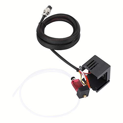 T opiky Stampante 3D in Acciaio Inossidabile J-Head Hotend estrusore + Kit ugello Spray per Creality CR-10/10S/S4 Kit estrusore