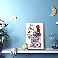 リビング絵アニメ漫画 (113)内装の絵画現代壁画装飾的な絵画壁掛け絵画(30 x 45)写真ポスター現代ポップアート油絵アートパネルウォールデコレーション絵画(リビングルーム、ダイニングルーム、ホテル、バー)