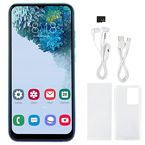 Nuobi Celulares Desbloqueados, Tarjetas Duales Smartphone de Doble Modo de Espera 1 + 8G, Pantalla de Ajuste Completo de Alta Definición de 6.26 Pulgadas Pantalla de Gota de Agua 3G(Azul Degradado)