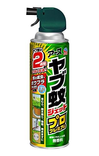 【防除用医薬部外品】ヤブ蚊ジェット プロプレミアム 殺虫スプレー [ヤブ蚊用 450mL]