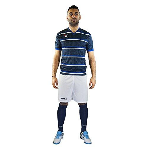 LEGEA Beira T-Shirt, Azzurro, M Unisexe-Adulte