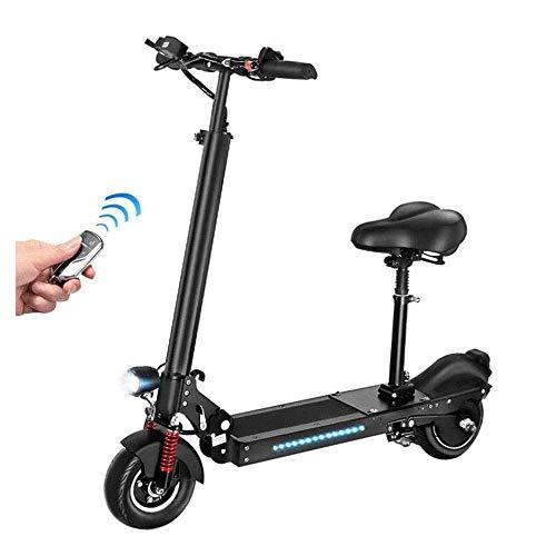 ZDW Bicicleta eléctrica Scooter eléctrico plegable, 36V / 350W E-Scooter 35 Km/H...