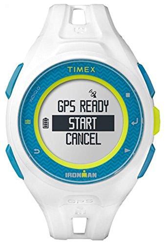 Timex tw5 K95300 Run x20 blanco Digital GPS Ironman