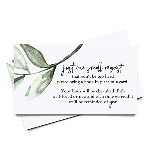 Bliss Collections Book Request Card…