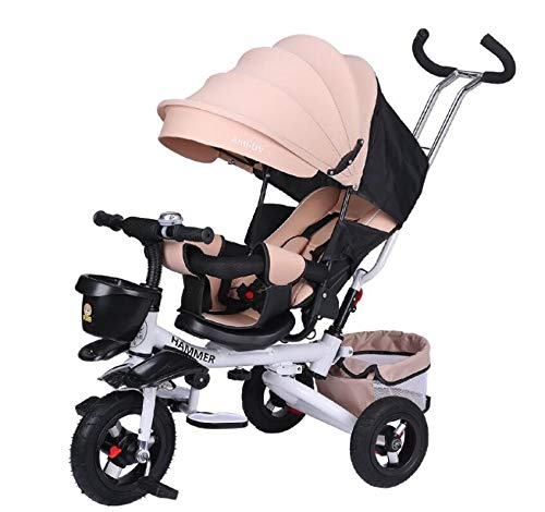 5-in-1 Foldable Stroll Trike with Small Storage $99.00 (80% OFF Coupon)