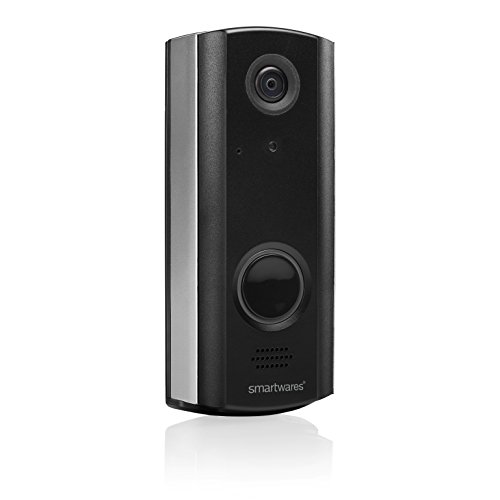 Smartwares DIC-23216 Videoportero Inalámbrico, 3.6 V, Black, 720P HD, Set de 16 Piezas