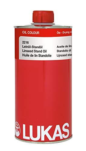 LUKAS Malmittel für die Ölmalerei - Leinöl-Standöl in 1 l