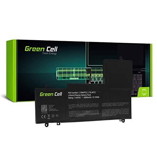 Green Cell Batería para Lenovo Yoga 710-14IKB 80V4 710-14ISK 80TY 710-15IKB 80V5 Portátil (6800mAh 7.6V Negro)