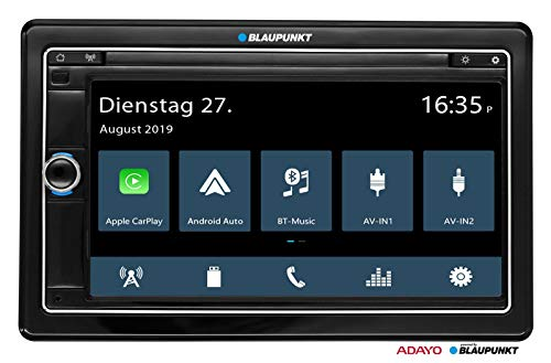 Blaupunkt Oslo 590 DAB - Doppel-DIN MP3-Autoradio mit Touchscreen/Bluetooth/USB/SD/CarPlay