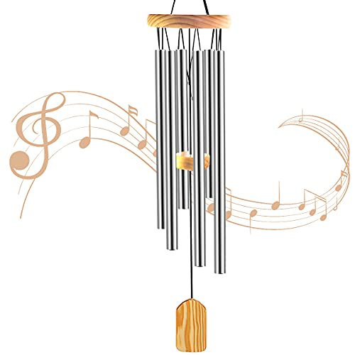 JelyArt Wind Chimes Outdoor, Garden Wind Chime for Patio Backyard Home...