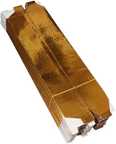 GJXY Sacrifice liefert verehren Buddha brennendes Papier groß freies Papier Goldbarren Hartpappe Goldbarren Goldbarren Ming Münze 1. Oktober Qingming,50pcs