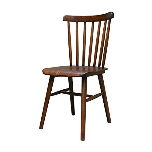 Stühle CJC Esszimmerstühle, Windsor, Hölzern, Solide Holz, Dauerhaft Büro Küche Treffen Zimmer Essen (Farbe : 03)