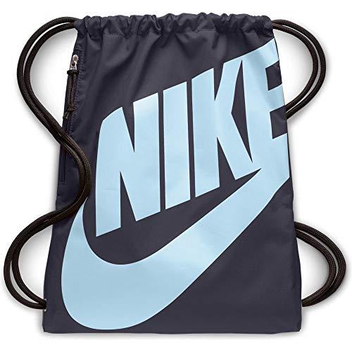 Nike Unisex-Erwachsene NK Heritage GMSK Turnbeutel, Mehrfarbig (Gridiron/Gridiron/Co)