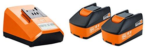 Accu Starter Set 18 V 5 Ah | Fein Select + 2 in 1 Pack | geschikt voor verschillende elektrische accu-gereedschappen | met bijpassende oplader