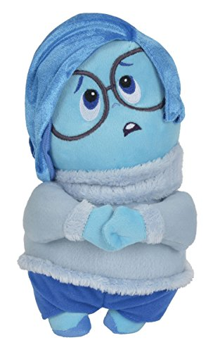 Simba 6315873543 - Disney Inside Out, Sadness, Stoffpuppe, 25 cm