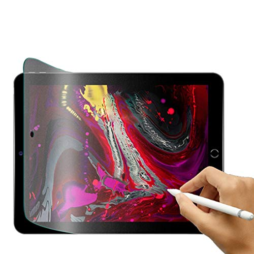 (2 Stück) iPad Matte Displayschutzfolie, Schutzfolie für Papiergefühl für iPad, Matt Blendschutz Zeichnung Skizzierung Schreiben Papier Textur Displayschutzfolie für iPad Air 3 / iPad Pro 10.5 Zoll