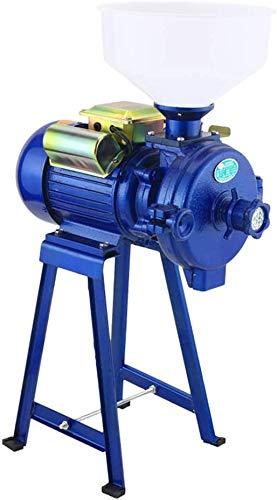 2200W eléctrico Molino Grinder Heavy Duty Comercial eléctrico Molino de Alimento seco Grinder Cereales maíz en Grano de café Trigo forrajero máquina con Embudo
