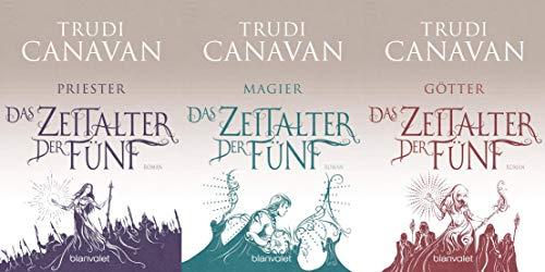 Das Zeitalter der Fünf Reihe von Trudi Canavan